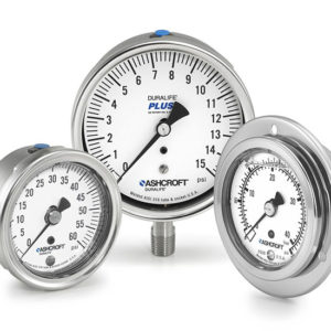 Ashcroft air pressure gauges display picture