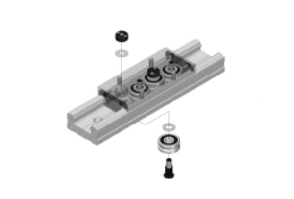 Track roller diamond case product diagram