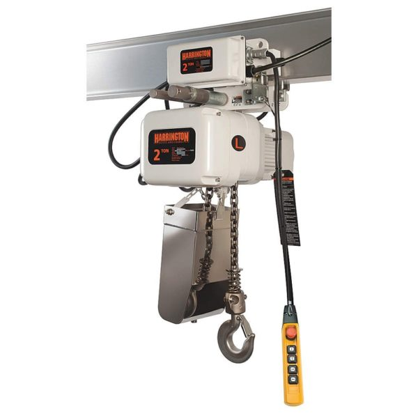 harrington hoists food-grade product shot